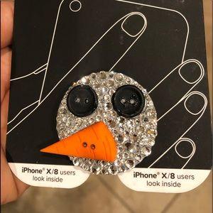 Bling Phone Popsocket w/ Swarovski rhinestones